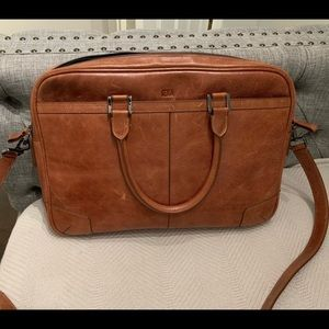 Sena Leather Brief Case